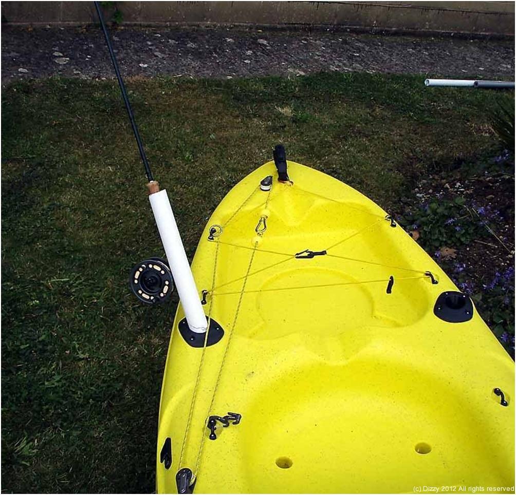 Diy Fly Rod Holder Dizzyfish Kayak Fishing
