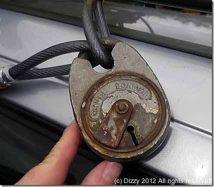 Lureman's kayak lock !