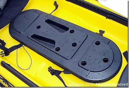 New Ocean Kayak Trident rod pod cover