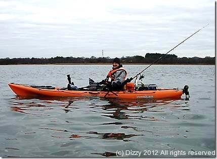 It's tough being a kayak fisherman !