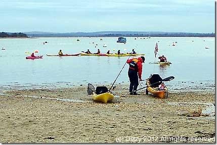 Kayak Teach in