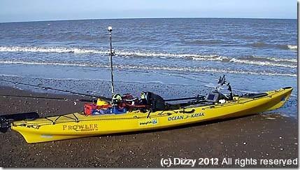 Dizzys Ocean Kayak Trident 15