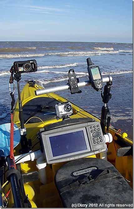 Kayak fishing gadgets