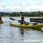 Llangorse Lake Disability kayak fishing fun day