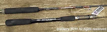 Fladen Maxximus Orange Solid Carbon 7 foot, 2 piece, 20-40lbs model