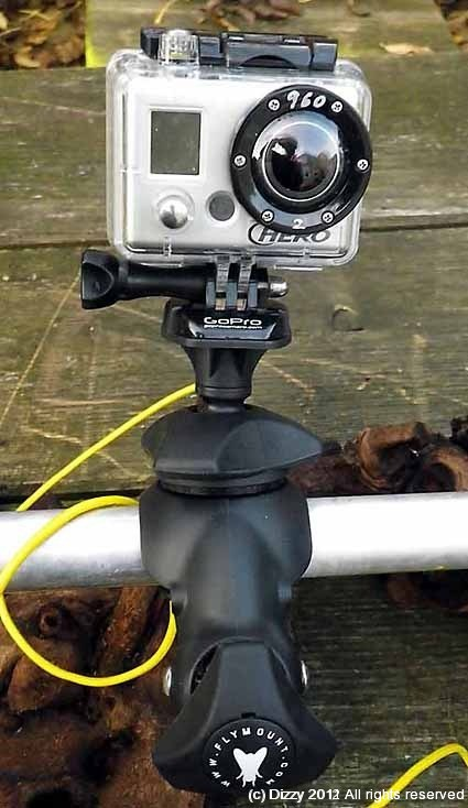 Flymount with GoPro quick release