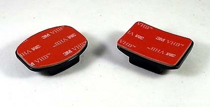 3M self adhesive GoPro mounts