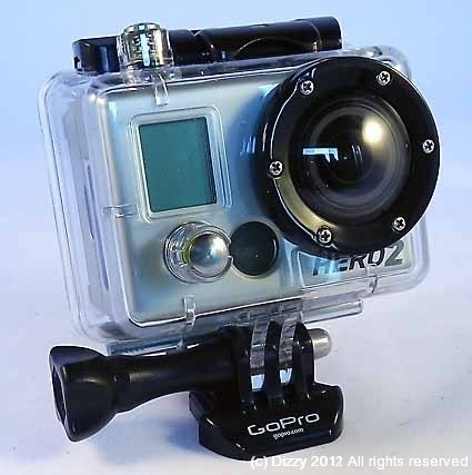 Standard GoPro Hero enclosure