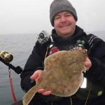 Kayak Fishing for plaice on the Skerries Bank