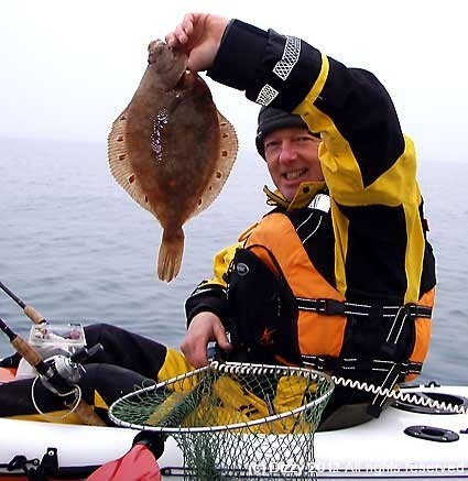 Mark with a decent plaice
