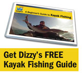 Dizzy's free beginner's guide to kayak fishing
