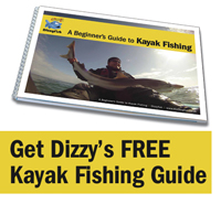Dizzy's free beginner's guide to kayak fishing