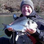 Kayak fishing for Gilthead Bream and Cuckoo Wrasse