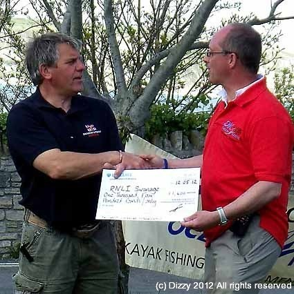 £1400 raised for Swanage RNLI