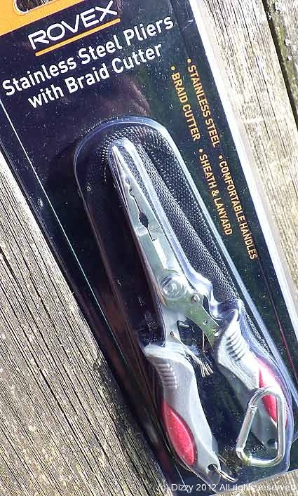 Rovex Stainless Steel pliers for £12