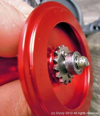 In built spool bearing