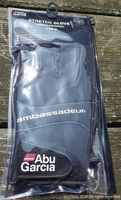 ABU Ambessadeur gloves - come in sizes M, L and XL