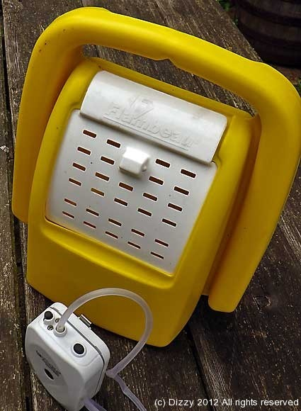 The flambeau bait bucket and live bait pump