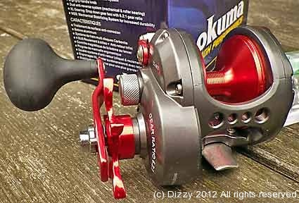 At first glance the CZ10 looks like a cross between a Diawa Saltiga and a Shimano Trinidad - nice !