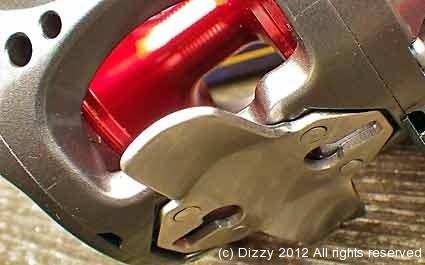 Stainless steel reel foot