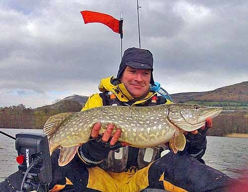 Robs pike on practice day