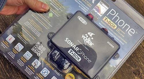 Review of Vexilar SP200 Sonar Phone T-Box
