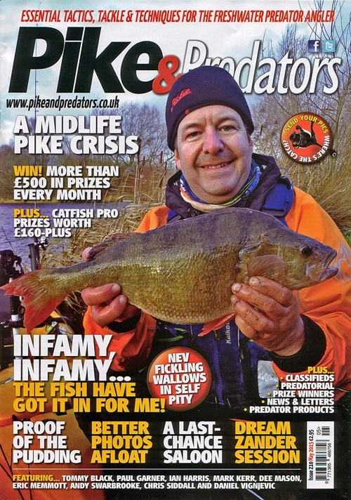Jan Pike and predators cover May 2015