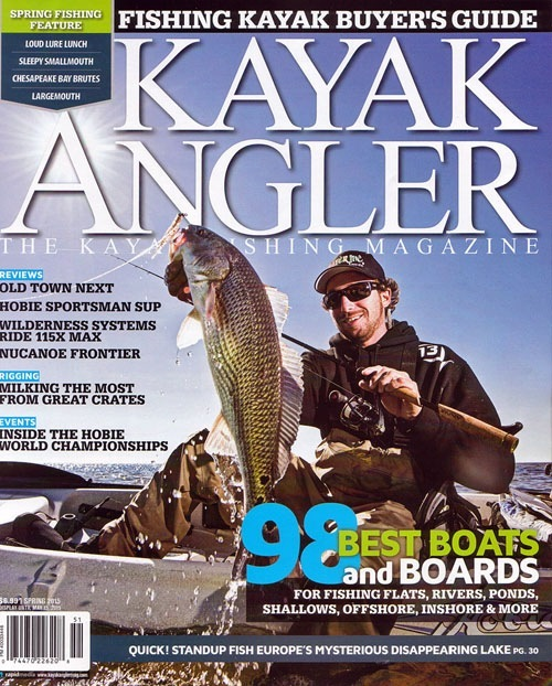 March Kayak Angler cover