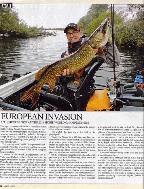 March Kayak Angler